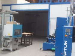 Lärmschutzeinhaususung Blechverarbeitung